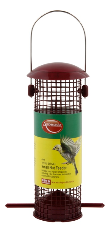 Ambassador Wild Birds Nut Feeder - Small