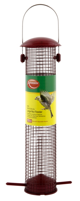 Ambassador Wild Birds Nut Feeder - Large