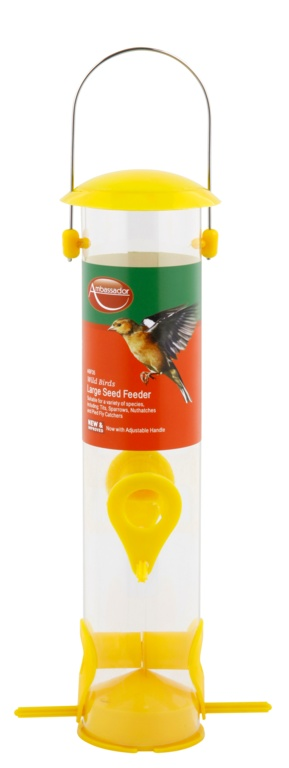Ambassador Wild Birds Seed Feeder - Large