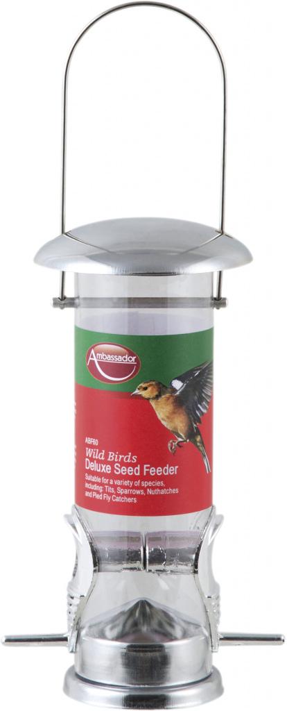Ambassador Wild Birds Deluxe Seed Feeder