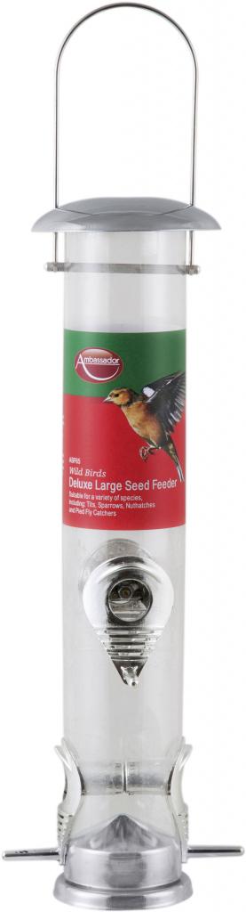 Ambassador Wild Birds Deluxe Large Seed Feeder