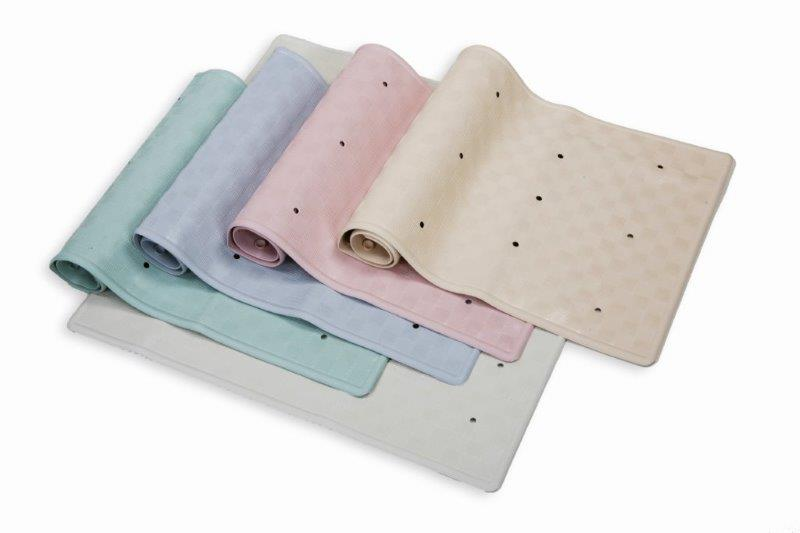 Blue Canyon Rubber Bath Mat 34x74 - Cream