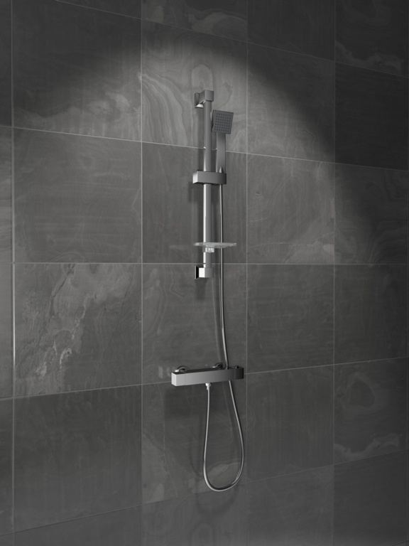 SP Askern Thermostatic Bar Mixer Shower