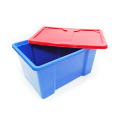 TML Dark Blue Box & Red Lid