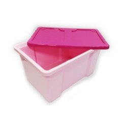 TML Pink Box With Cerise Lid