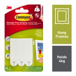 Command Picture Hanging Strips Medium x4
