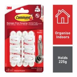 Command Mini Hooks 17006