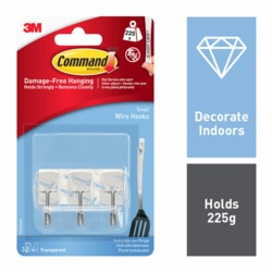 Command Clear Wire Hooks 17067