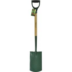 Ambassador Natural Ash Handle Carbon Steel Digging Spade