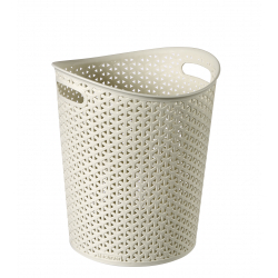Curver My Style Paper Bin Vintage White