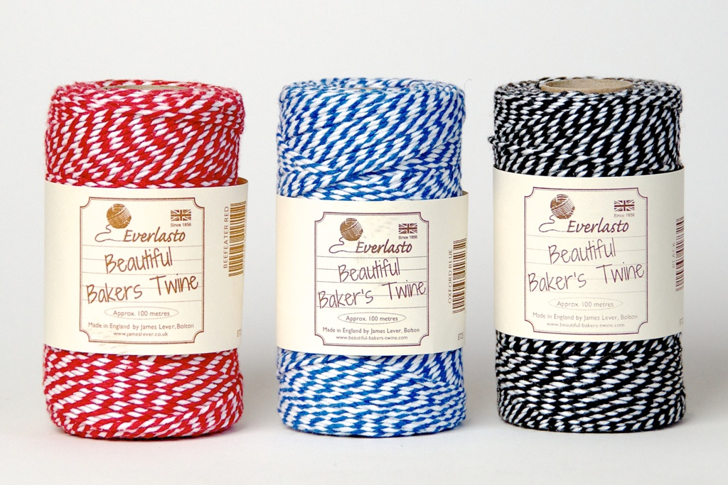 Everlast Beautiful Baker's Twine - 100m Assorted Colours