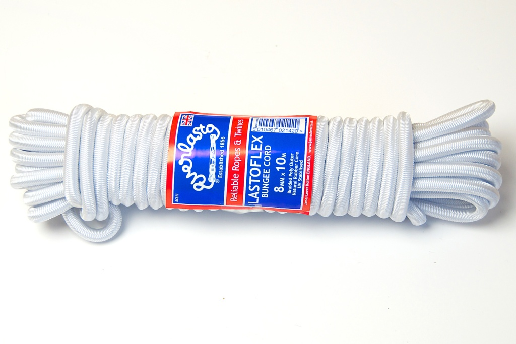 Everlasto Bungee Cord - 10m x 8mm