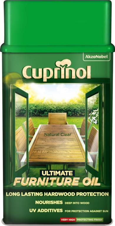 Cuprinol Ultimate Hardwood Furniture Oil 1L - Clear
