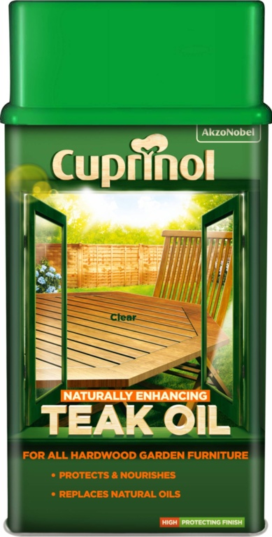 Cuprinol Garden Furniture Teak Oil - 1L