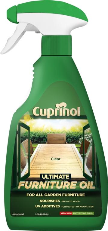 Cuprinol Ultimate Hardwood Furniture Oil 500ml - Clear