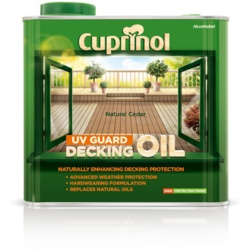 Cuprinol UV Guard Decking Oil 2.5L