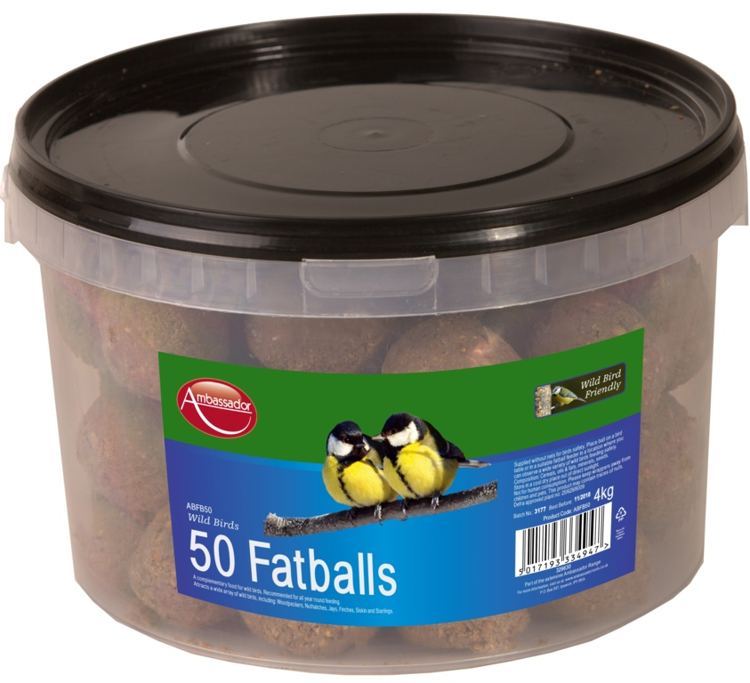 Ambassador Fat Balls - 50 Pack