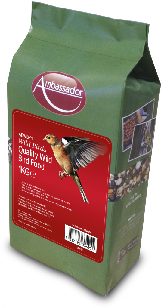Ambassador Quality Wild Bird Food - 1kg