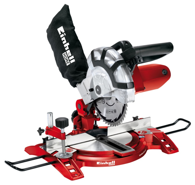 Einhell Mitre Saw with Carbide Tipped Pro Blade - 210mm 1400w