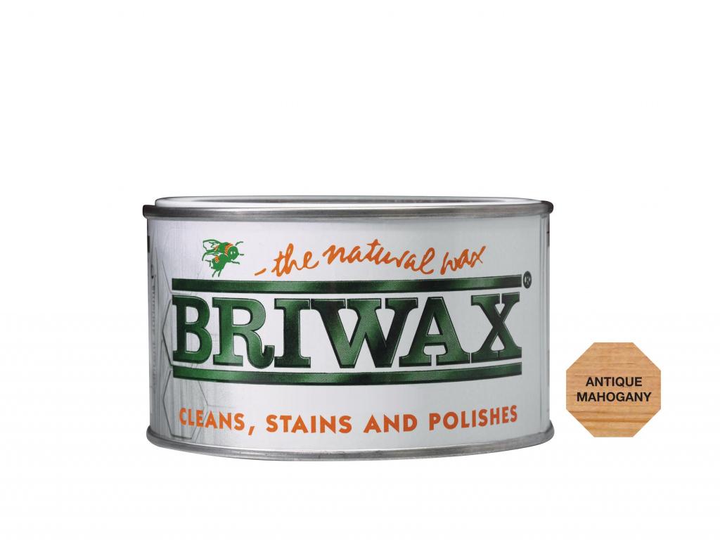 Briwax Natural Wax - 400g Antique Mahogany