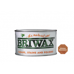 Briwax Natural Wax 400g Spanish Mahogany