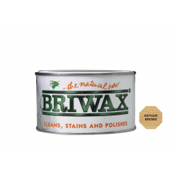 Briwax Natural Wax 400g Antique Brown