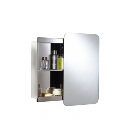 Croydex Medway Sliding Door Stainless Steel Cabinet