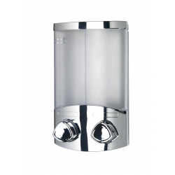 Croydex Euro Dispenser Duo Chrome
