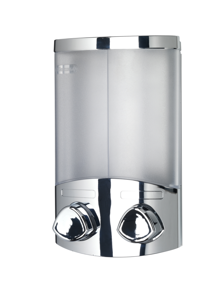 Croydex Euro Dispenser Duo Chrome