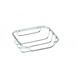 Croydex Stainless Steel Flat Bar Soap Dish