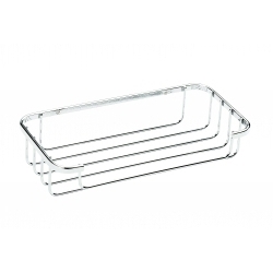 Croydex Stainless Steel Flat Bar Cosmetic Basket