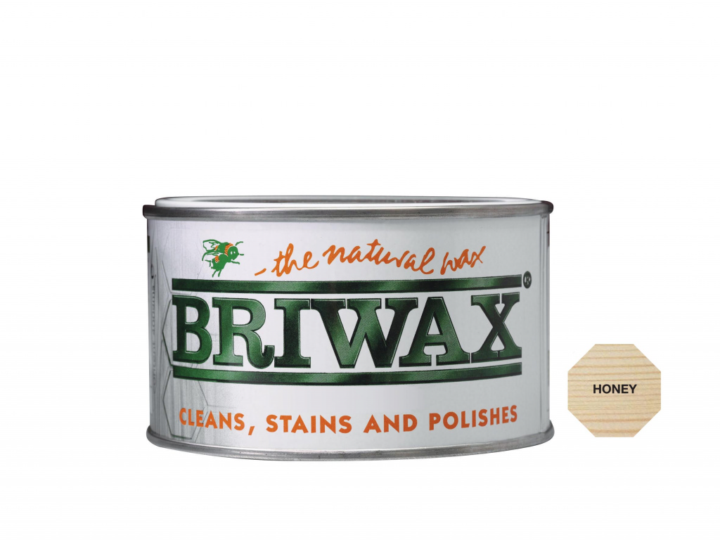 Briwax Natural Wax - 400g Honey