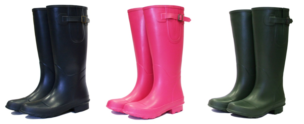 Bosworth Green Wellington Boots - Size 7