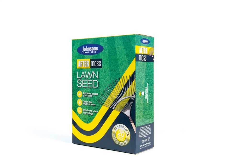 Johnsons Lawn Seed After Moss - 1kg/20m2