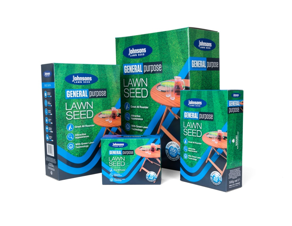 Johnsons Lawn Seed General Purpose - 10kg/400m2