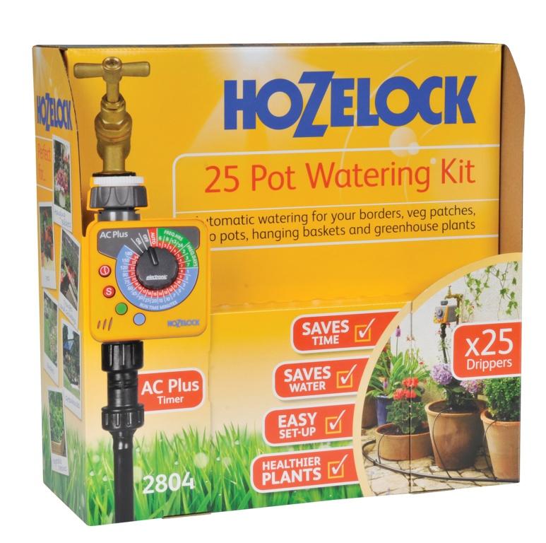 Hozelock Automatic Watering Kit - 25 Pot