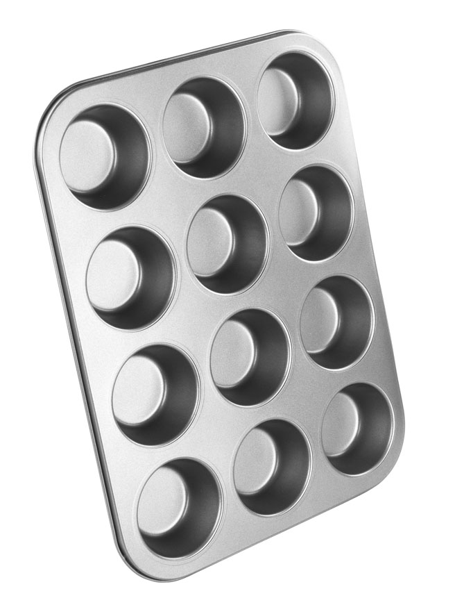 Chef Aid Non Stick Muffin Tray - 12 Cup