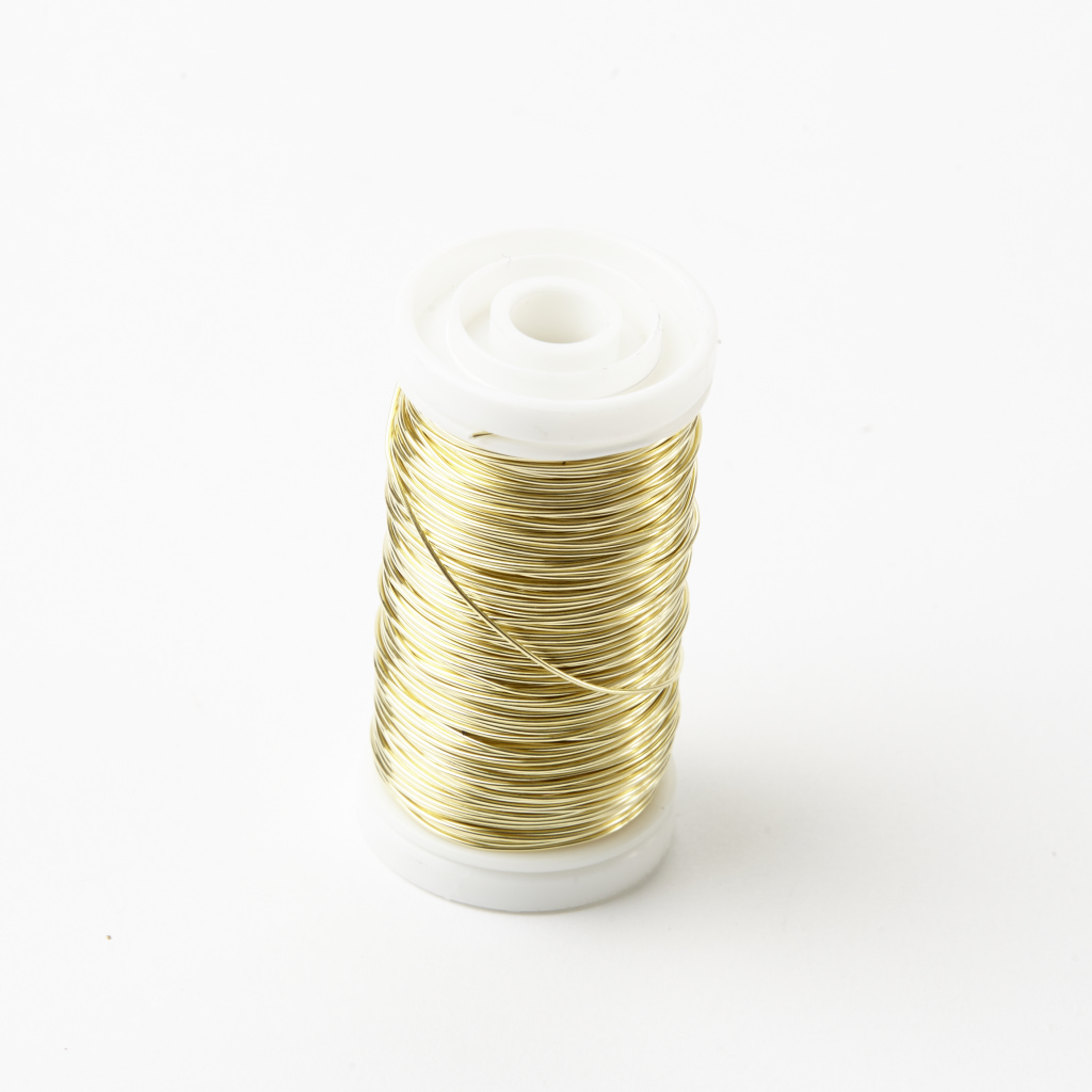 Oasis Metalic Reel Wire - Shiny Gold