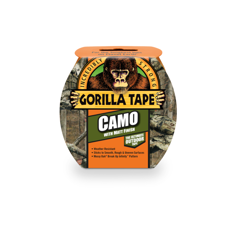 Gorilla Camo Tape - 47.8mm x 8.23m