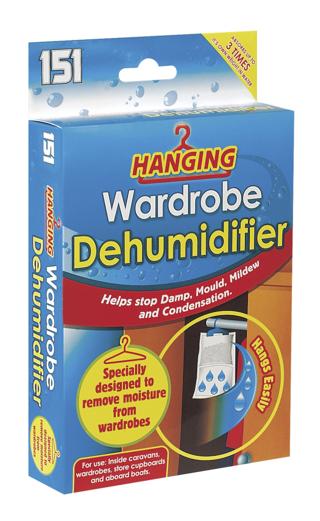 151 Hanging Wardrobe Dehumidifier - 450ml
