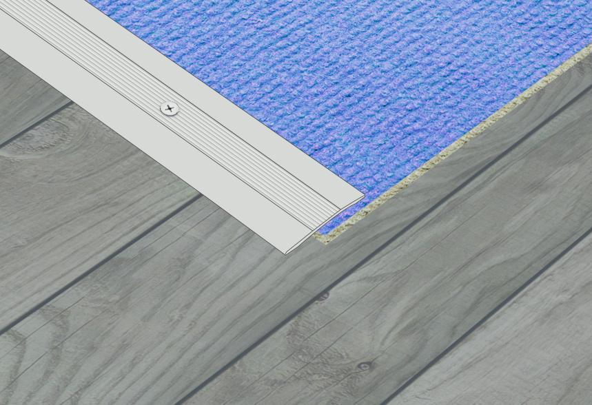 SupaDec Aluminium Coverstrip - 25x900