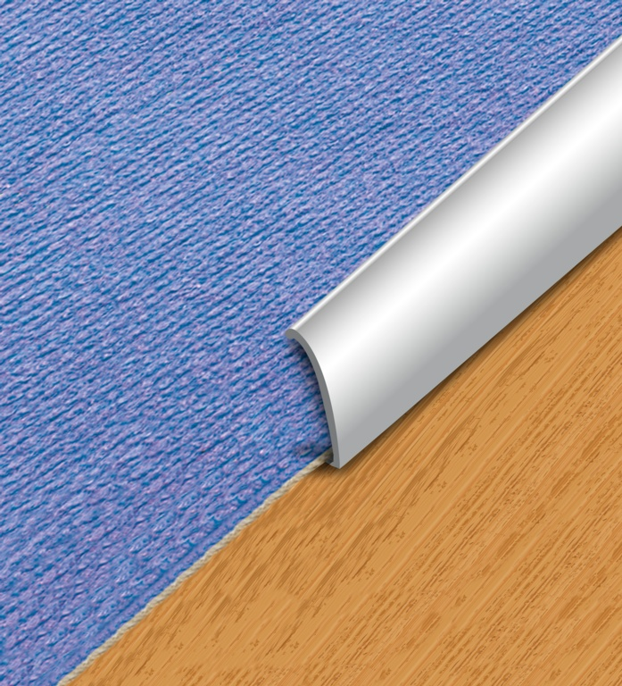 SupaDec Aluminium Floor Carpet Edge - 30x900mm