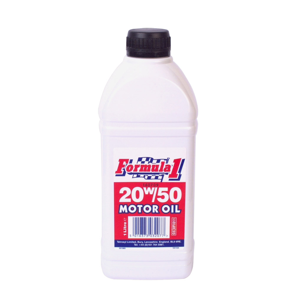 Formula1 20w 50 Motor Oil Stax Trade Centres