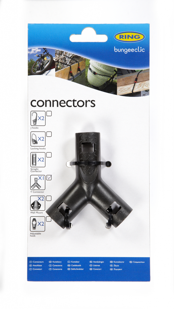 Ring Bungee Clic Y Connector