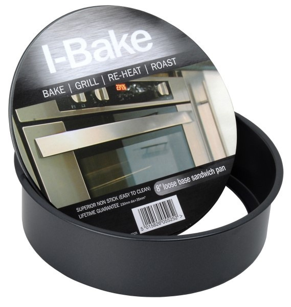 I-Bake Pendeford Loose Base Sandwich Pan - 8""