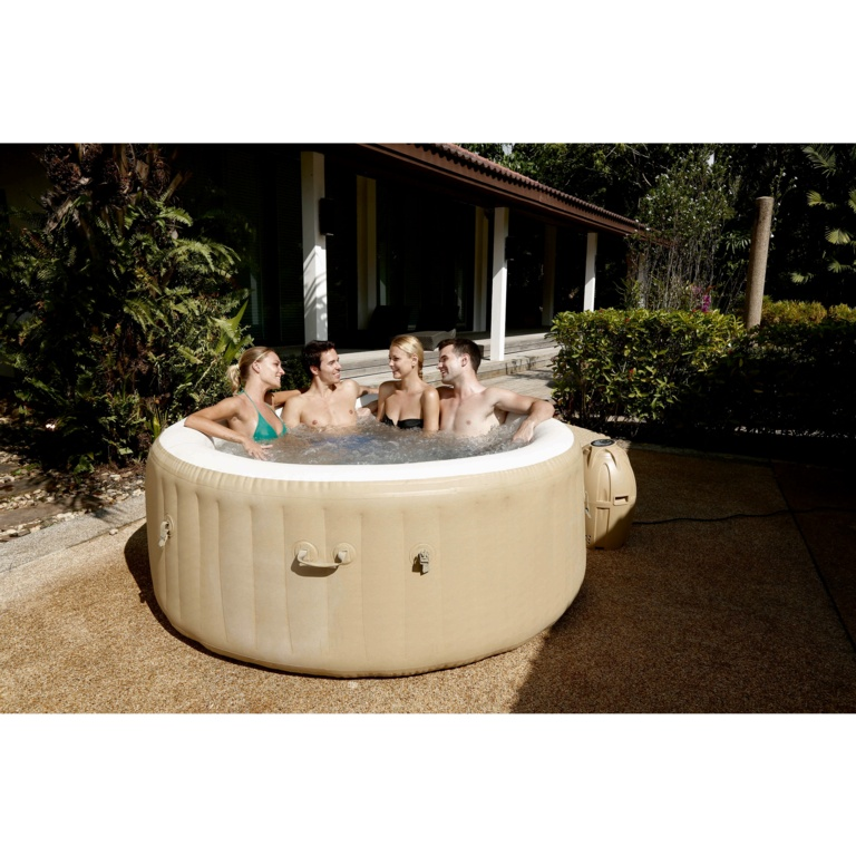 "Lay-Z-Spa Palm Springs AirJet - 196cm x 71cm (77"" x 28"")"