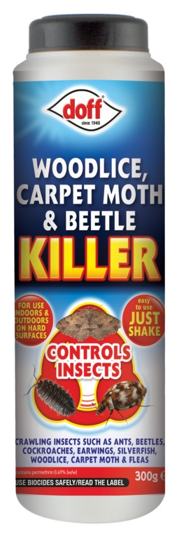 Doff Woodlice, Carpet Moth & Beetle Killer - 300g