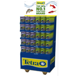 Tetra Pond sticks & Variety Sticks Display