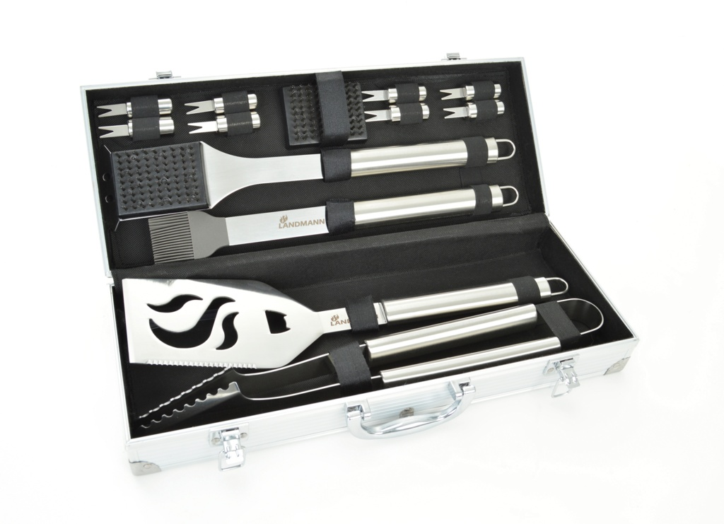 Landmann Stainless Steel Tool Set - 13 Piece