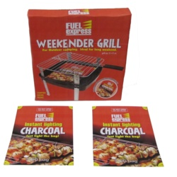 Fuel Express Weekender Grill Instant Light Charcoal